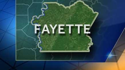 Fayette County map (2016)