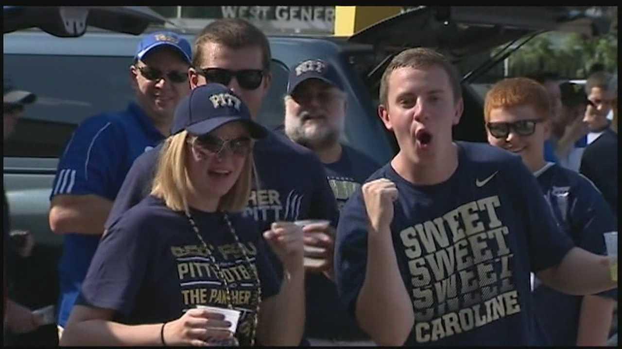 Pitt football fans