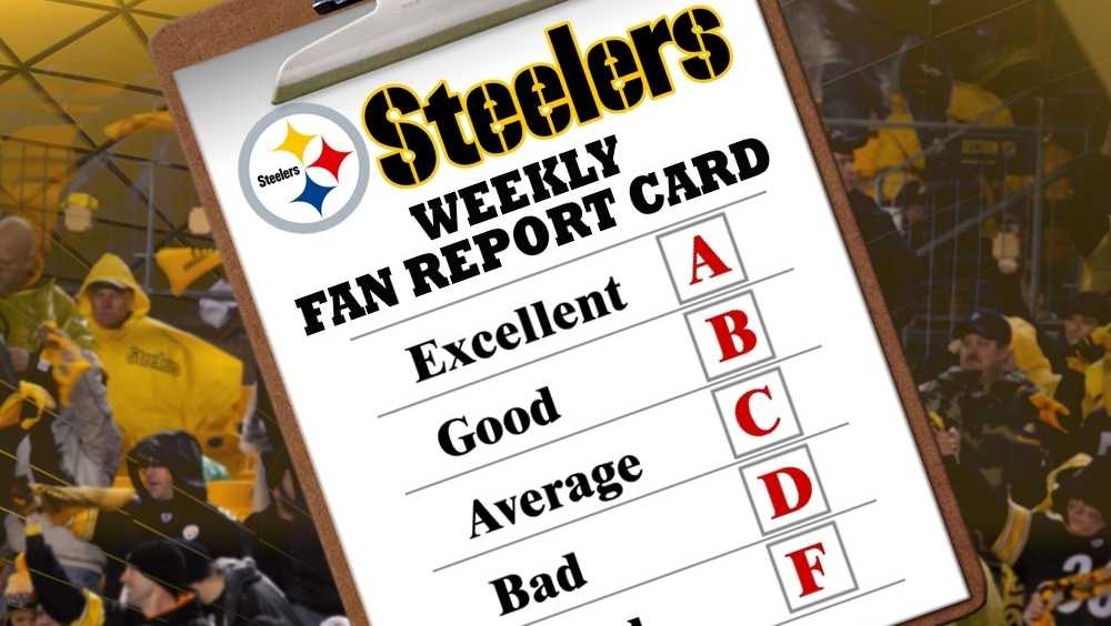 Vote in our weekly Steelers fan report card.