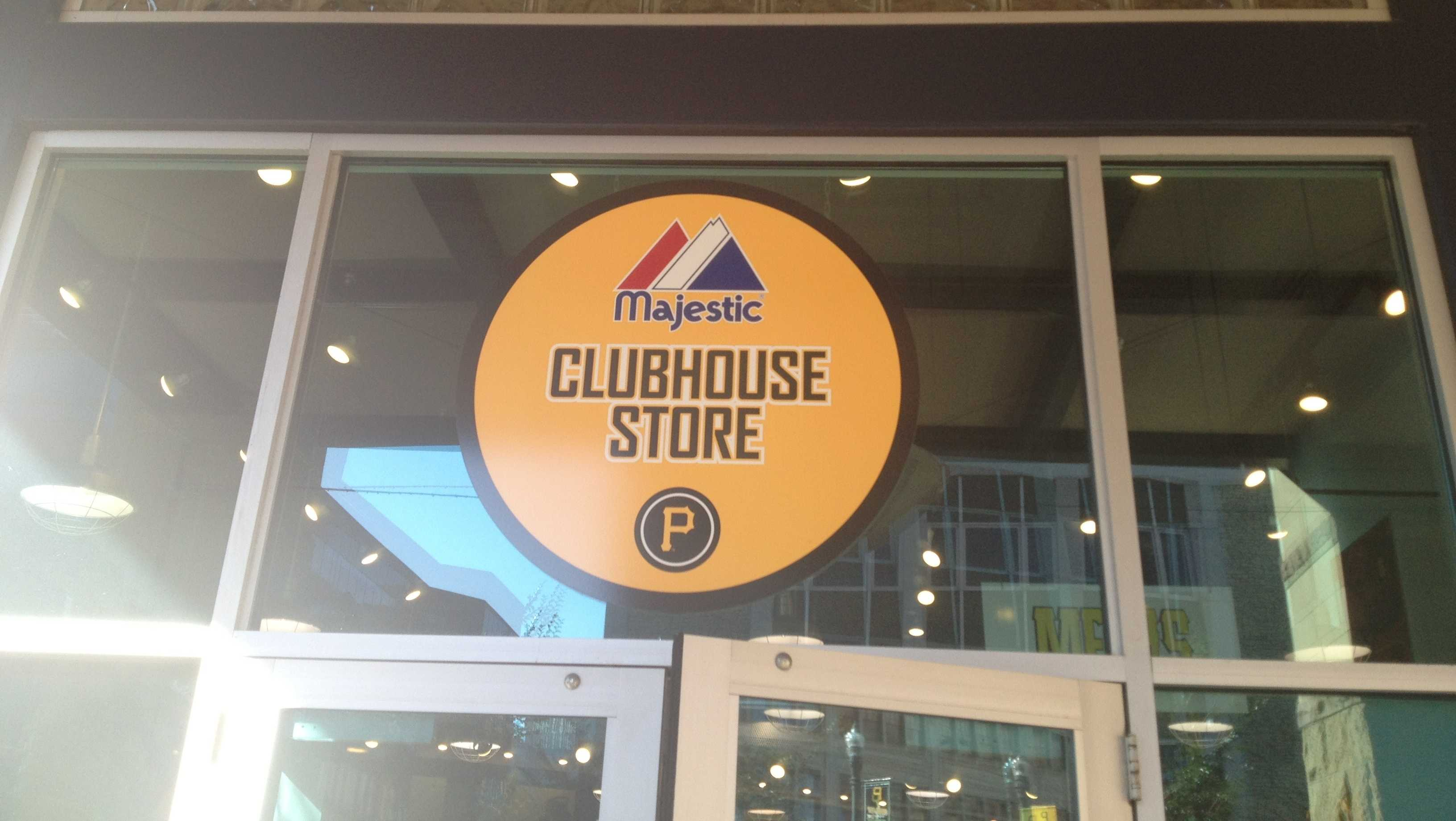 The Majestic Clubhouse Store at PNC Park