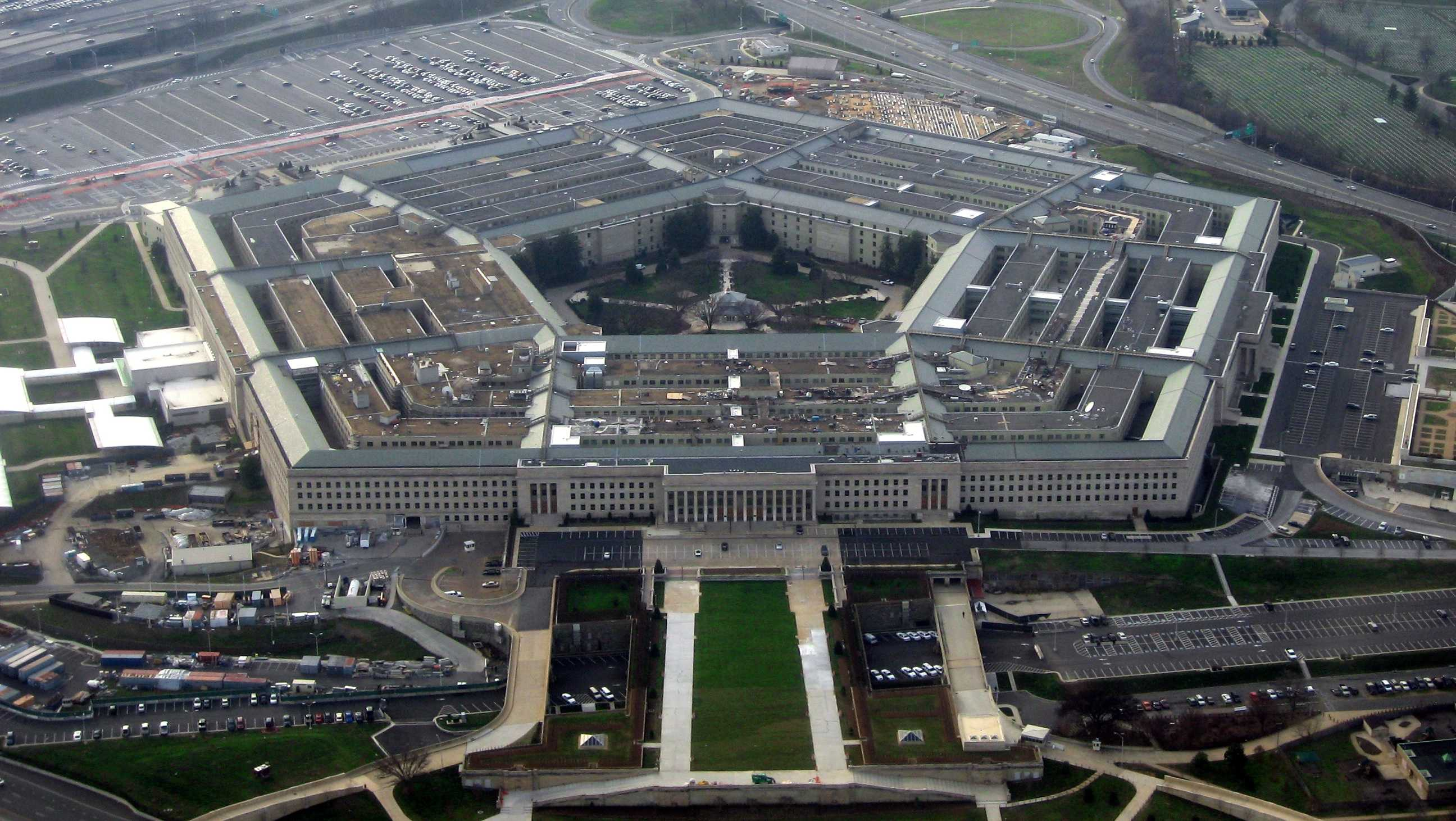 The Pentagon is the headquarters of the U.S.  Department of Defense.