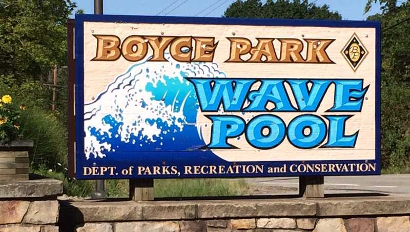Boyce Park Wave Pool