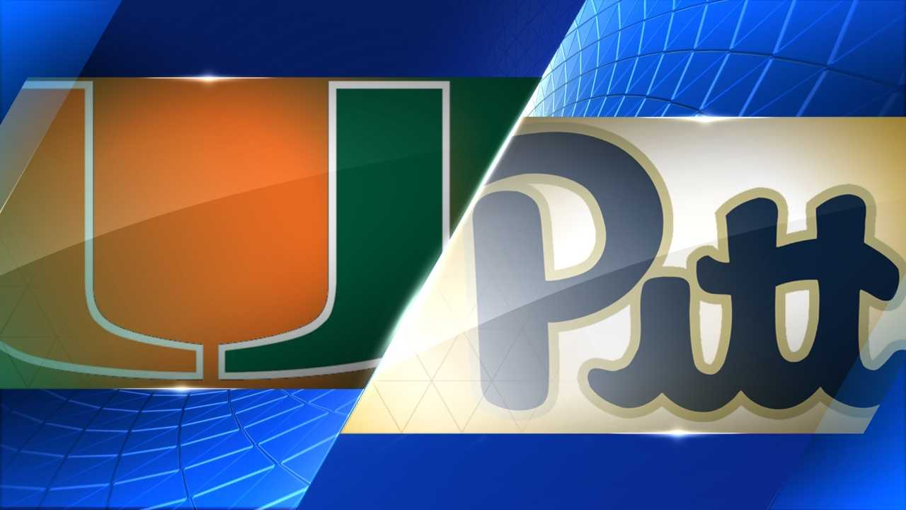 Pitt-Miami logos