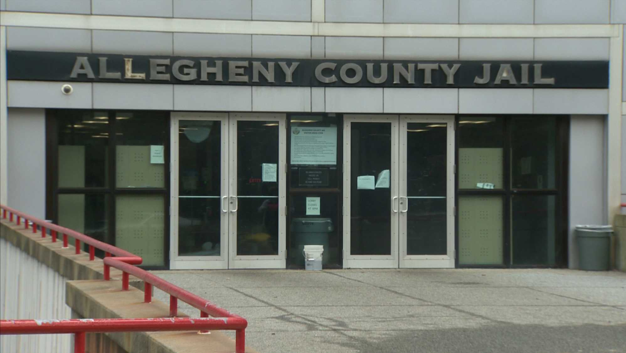 Allegheny County Jail entrance