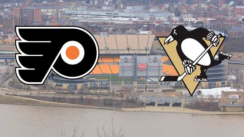 Penguins vs. Flyers at Heinz Field