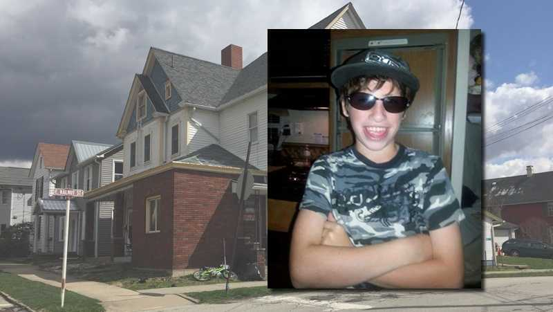 James Robert Gustafson, 13, was shot and killed on South Church Street in Mount Pleasant, Westmoreland County.