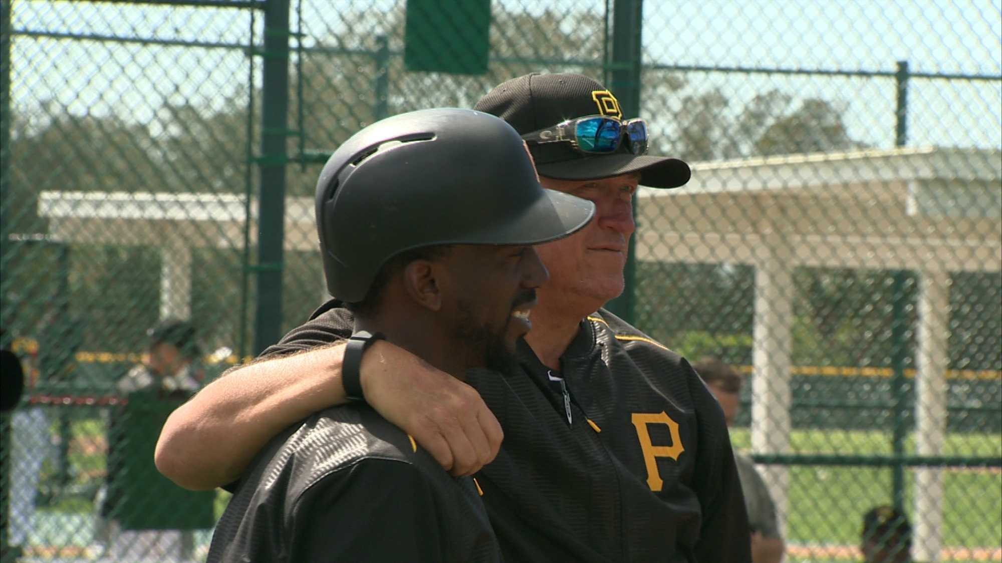 Andrew McCutchen and Clint Hurdle
