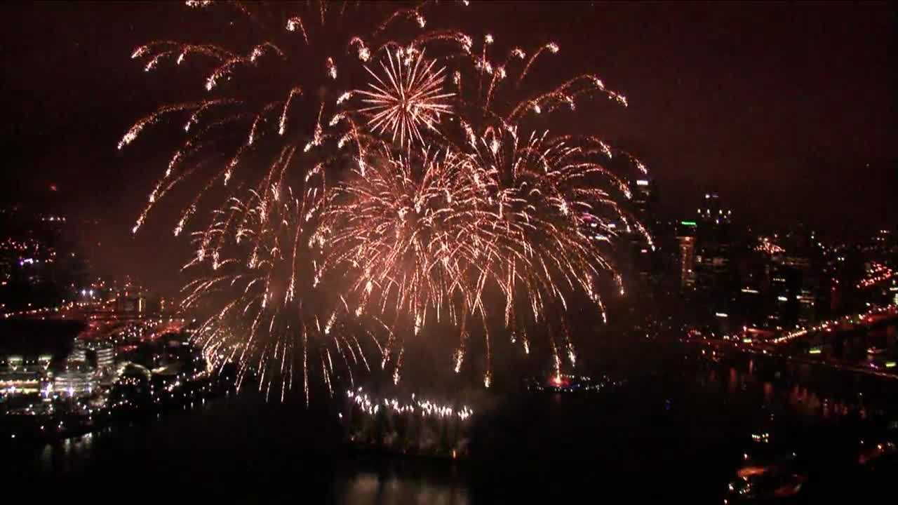 2016 EQT Fireworks Show in Pittsburgh