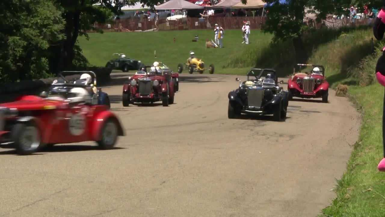 Several events held over the weekend as part of Pittsburgh's Vintage Grand Prix