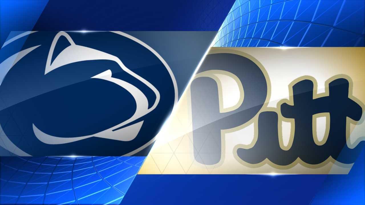penn state-pitt logos
