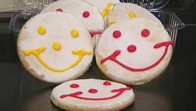 Smiley cookies from Eat'n Park