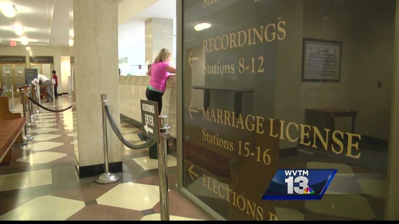 Marriage licenses in Alabama