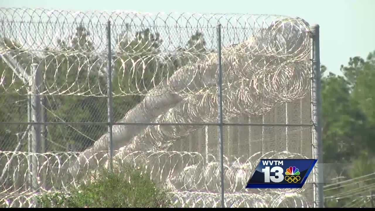 Gov. Bentley tours Holman Correctional Facility in Atmore after prison riot