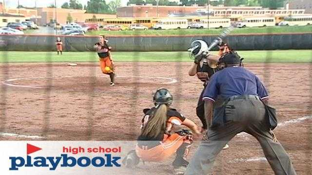 State 4A High School Softball Playoffs featuring the Lady Knights of North Davidson taking on the Falcons of Southeast Guilford in Greensboro.