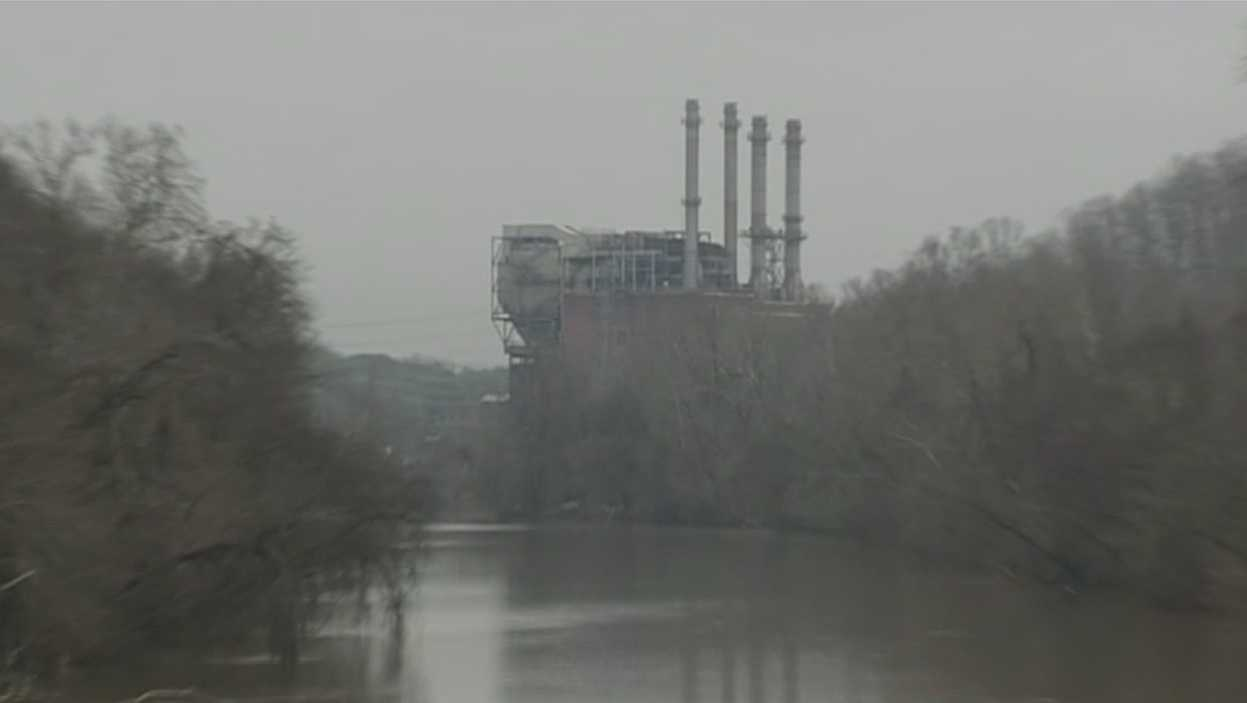 Duke Energy power plant in Eden