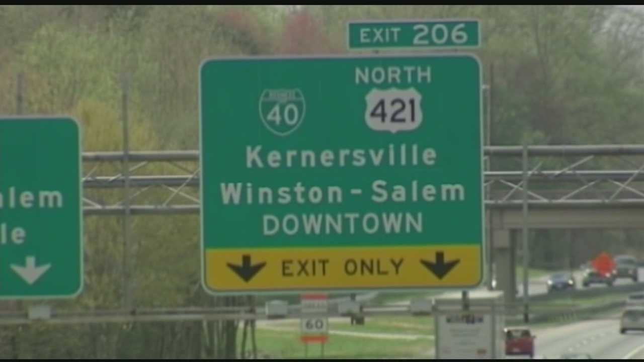 A highway transformation is coming to Business 40 in Winston-Salem. David Jeannot has more