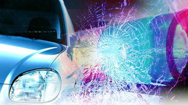 Car crash wreck accident