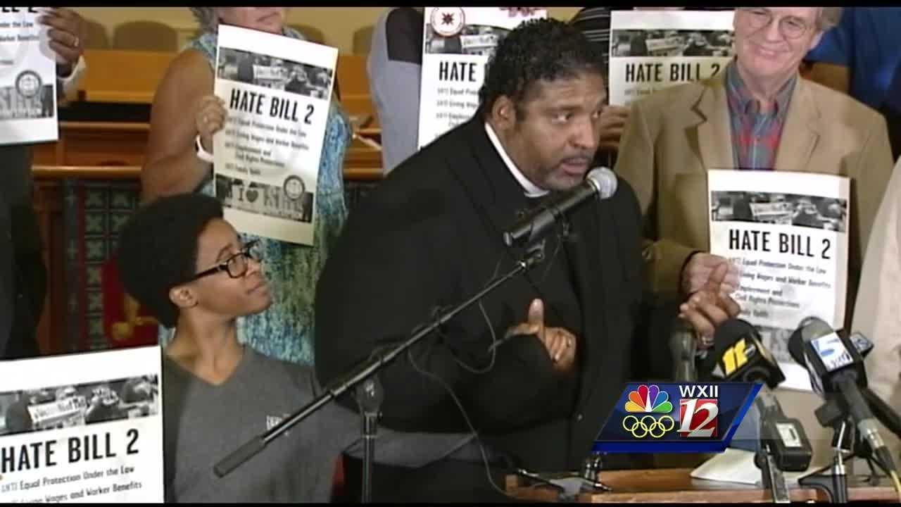 Rev. Barber speaks in Raleigh
