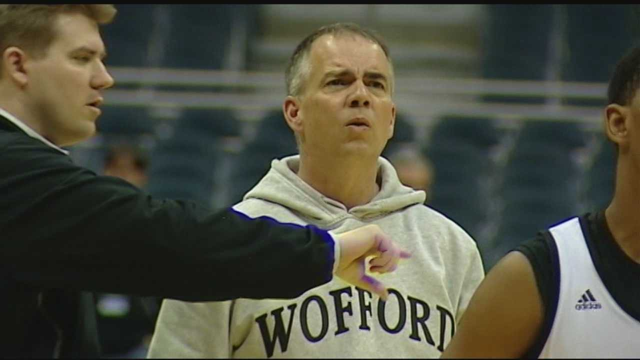 After three NCAA tournaments in five years, some have wondered by Wofford's head coach hasn't moved on.  He explains ...
