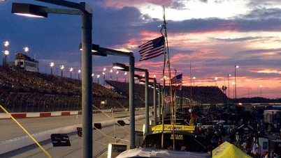 The Labor Day weekend race at Darlington. South Carolina's only Sprint Cup Series race.