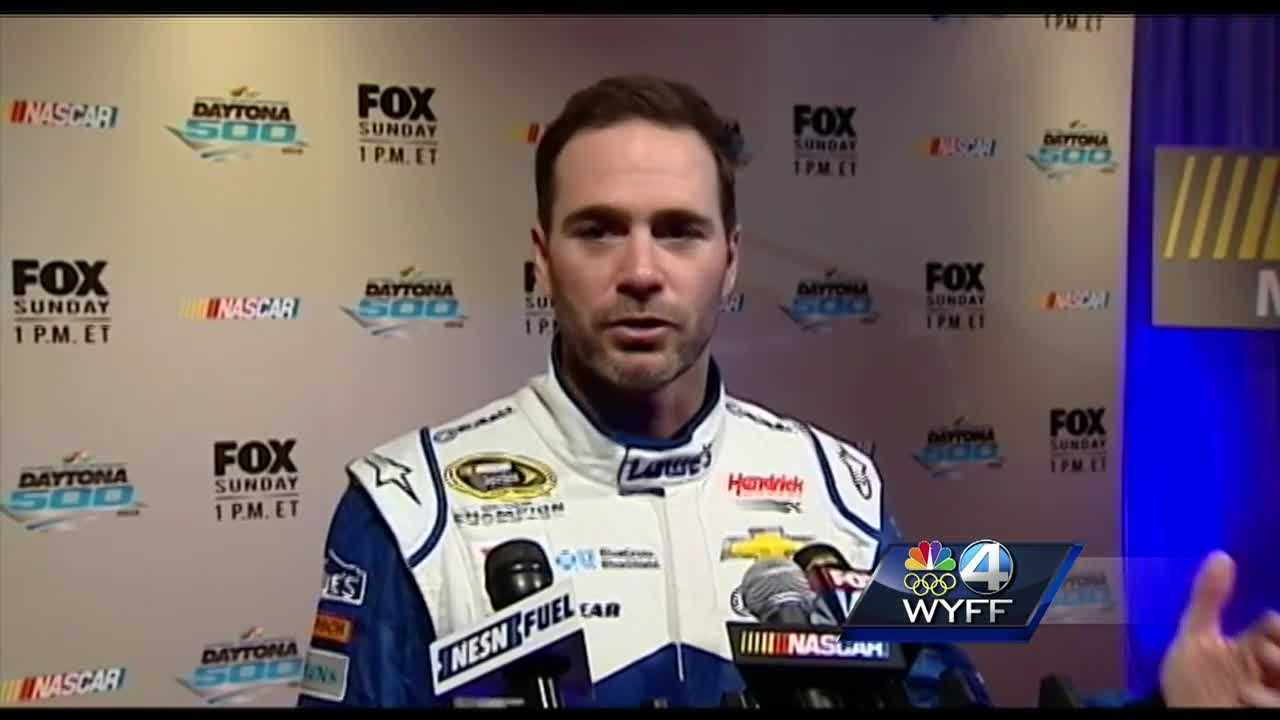 Jimmie Johnson talks about upcoming title race