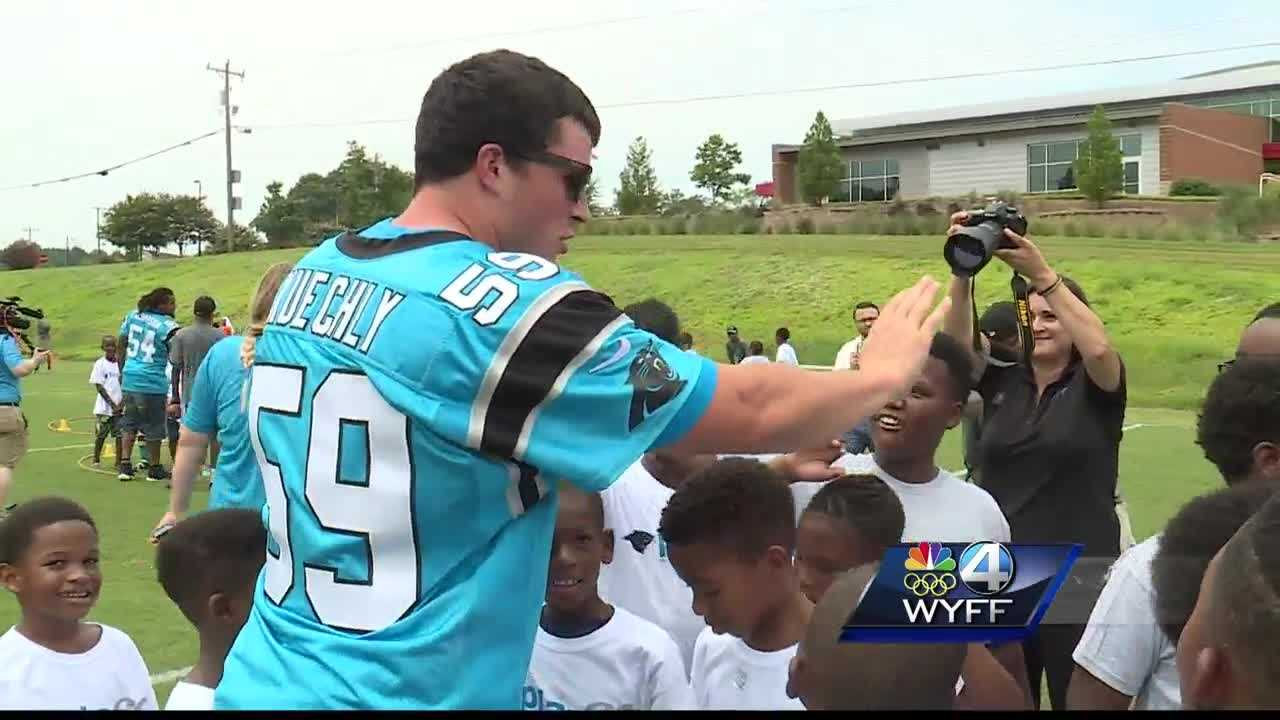 A group of Play 60 campers get the surprise of a lifetime.