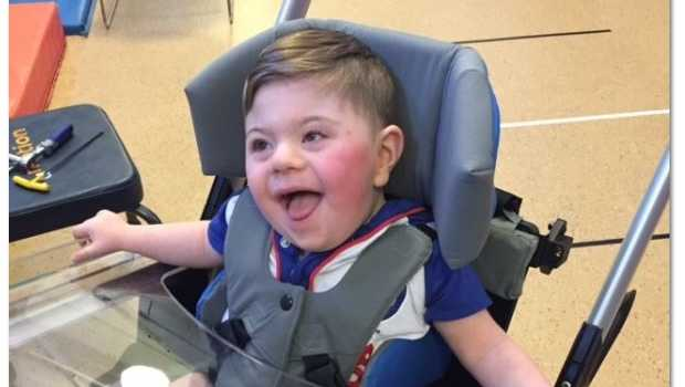 2-year-old Logan Dressler's parents are hoping his customized wheelchair will reappear.