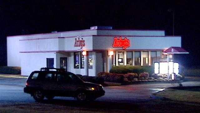 Arby's restaurant - night