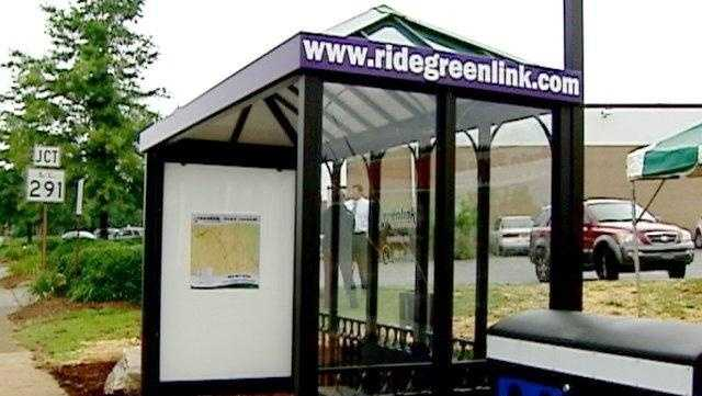 GREENLINK BUS SHELTERS
