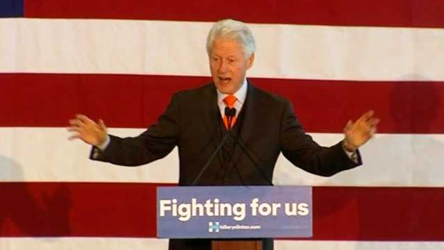 Bill Clinton in South Florida