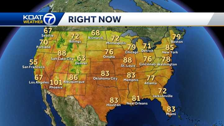 Us Weather Map Current Temperatures Photos - Us current temperature map