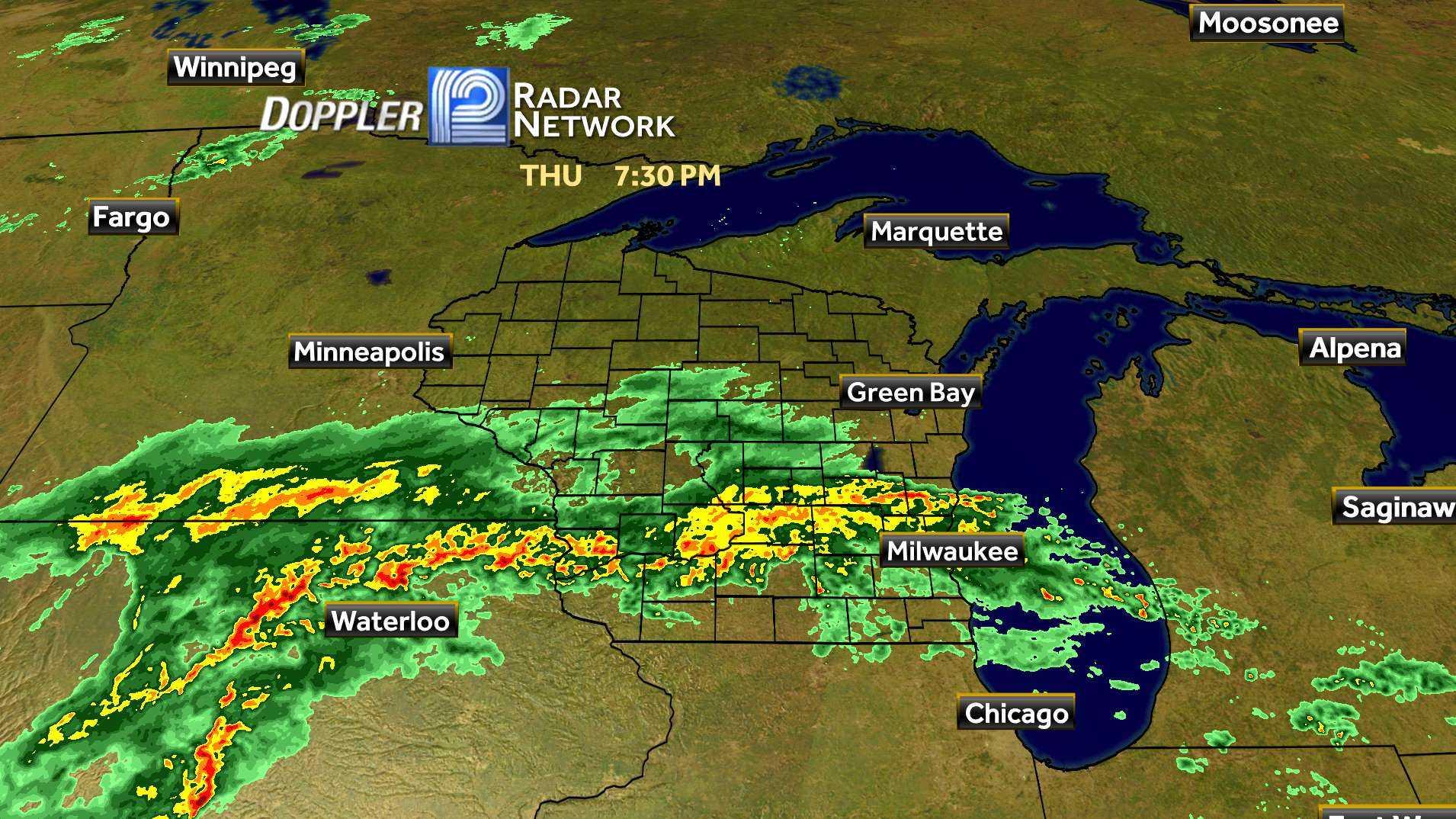 US Doppler Radar By Hurricanes Photo Weather Underground - Doppler radar chicago