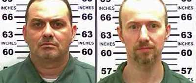 Richard Matt, left, was killed by police, and David Sweat remains on the loose