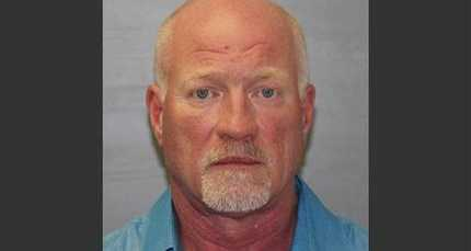 This photo provided by the New York State Police shows Gene Palmer on Wednesday, June 24, 2015. The maximum-security prison guard is believed to have delivered tools inside frozen meat to two inmates before they escaped was arrested on Wednesday, authorities said. (New York State Police via AP)