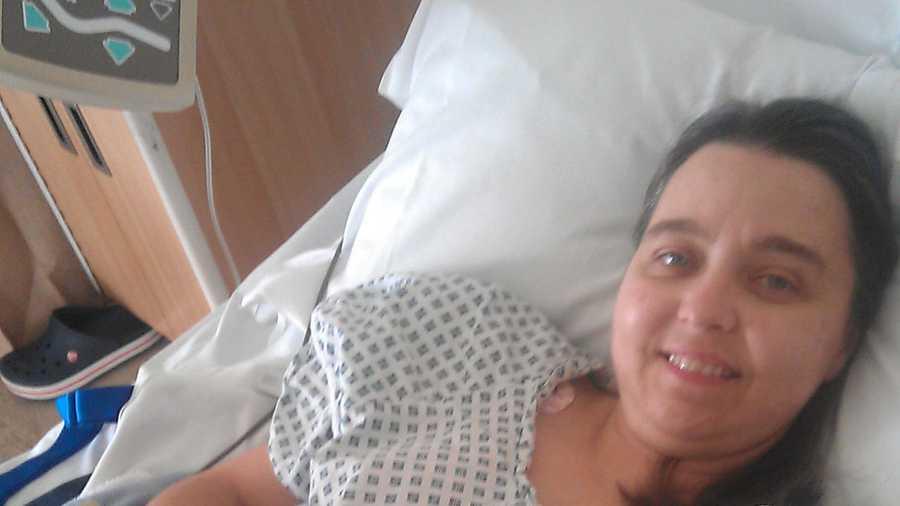 Carla Bradbury cervical cancer survivor Stand Up To Cancer