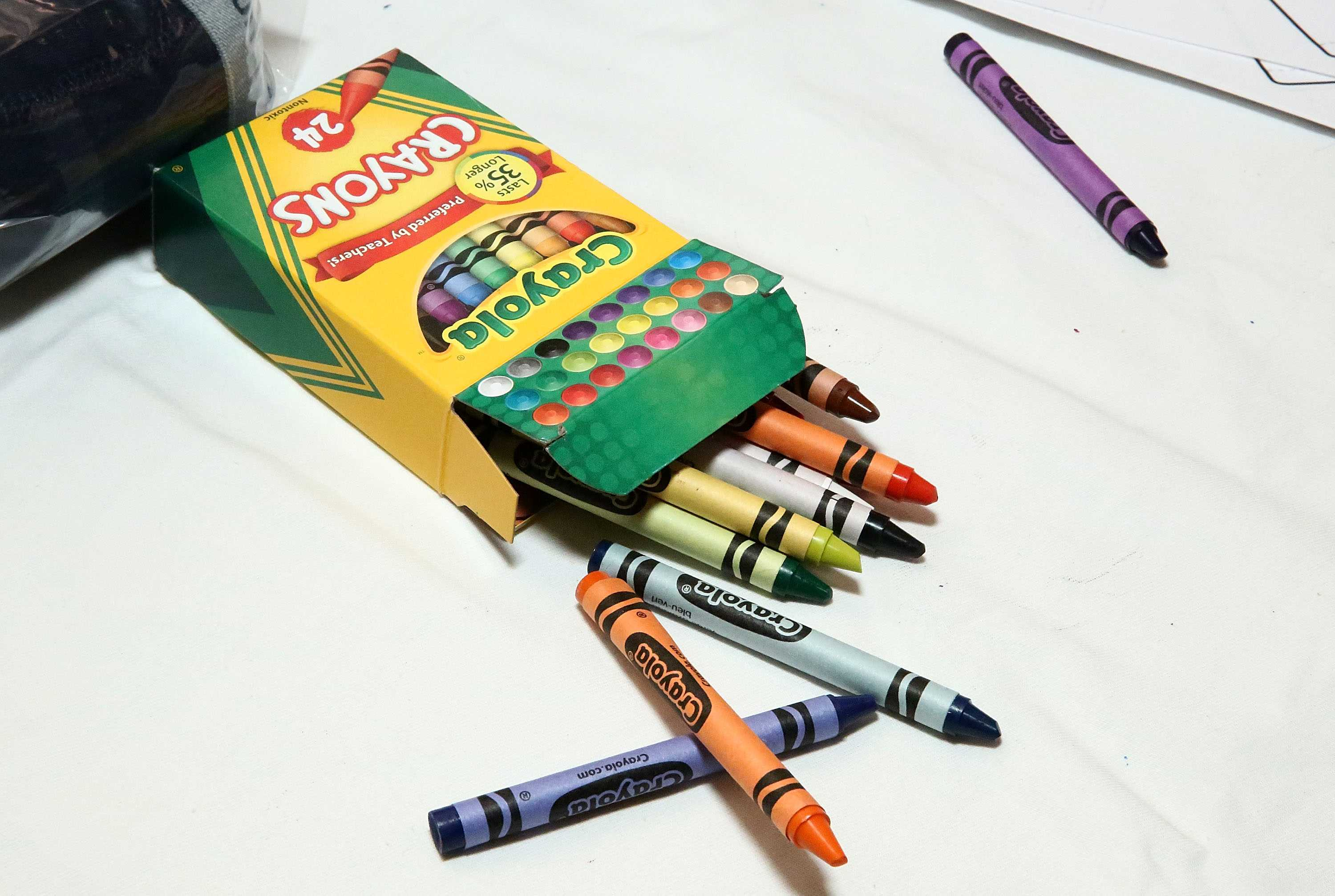 Crayola Dropping One Color From 24-Crayon Box