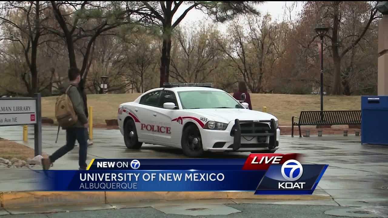 "UNM student on police alert: ""It terrified me"" - Albuquerque"