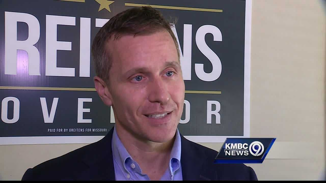 Eric Greitens won't take questions about book deal, charity salary