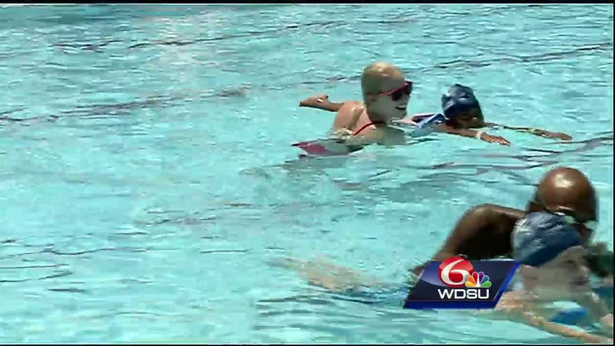 Olympic athletes spread message of water safety in New Orleans area