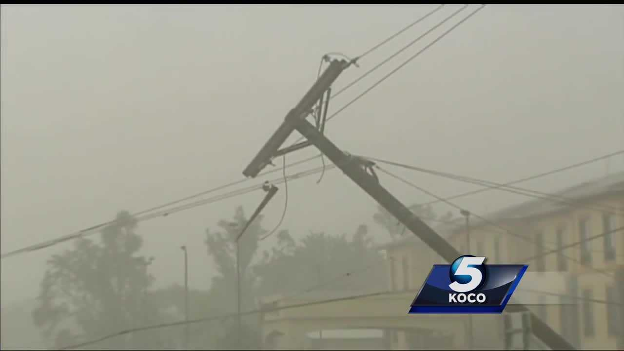 Severe storm causes heavy damage in Fairview