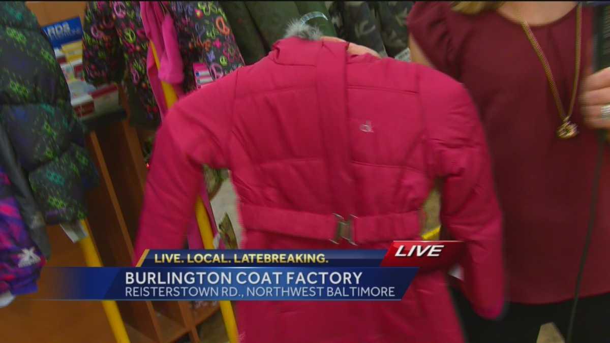 burlington coat factory helps coats for kids