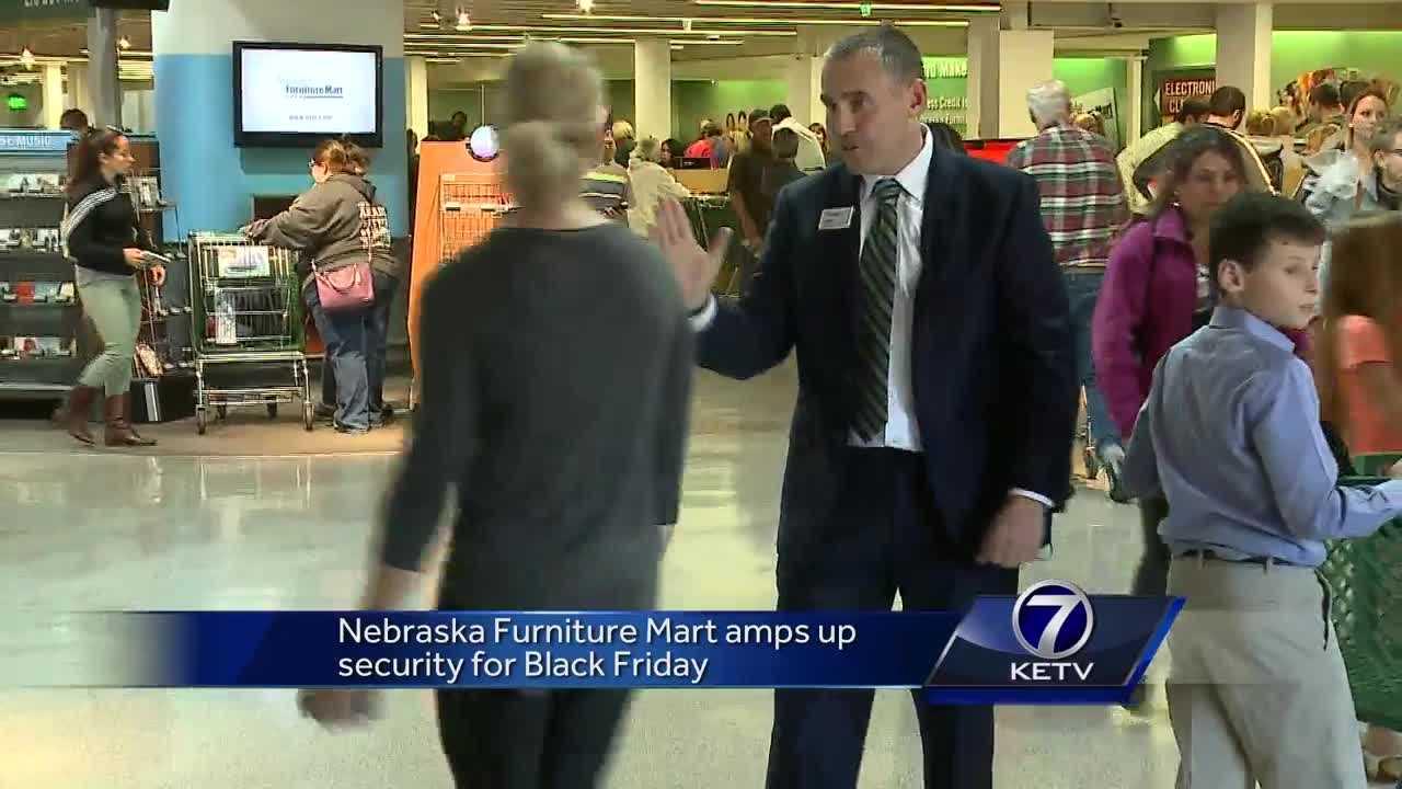 Nebraska Furniture Mart Amps Up Security For Black Friday Omaha