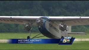 Ford Tri Motor Plane Rides Available At Lunken Airport