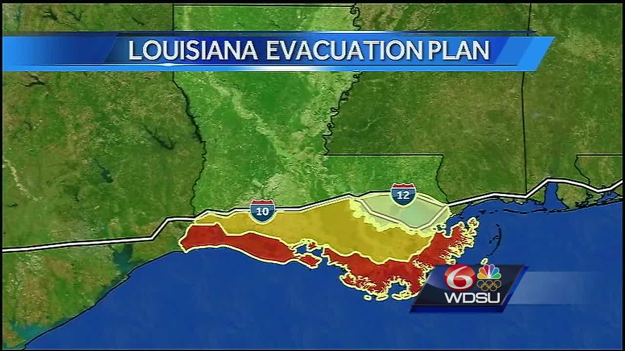 What to know about evacuation plans contraflow in Louisiana