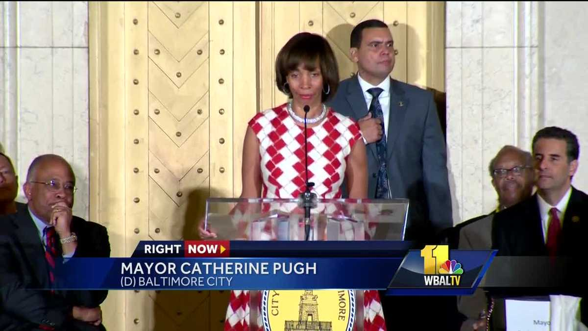 Video: New Baltimore Mayor Catherine Pugh speaks