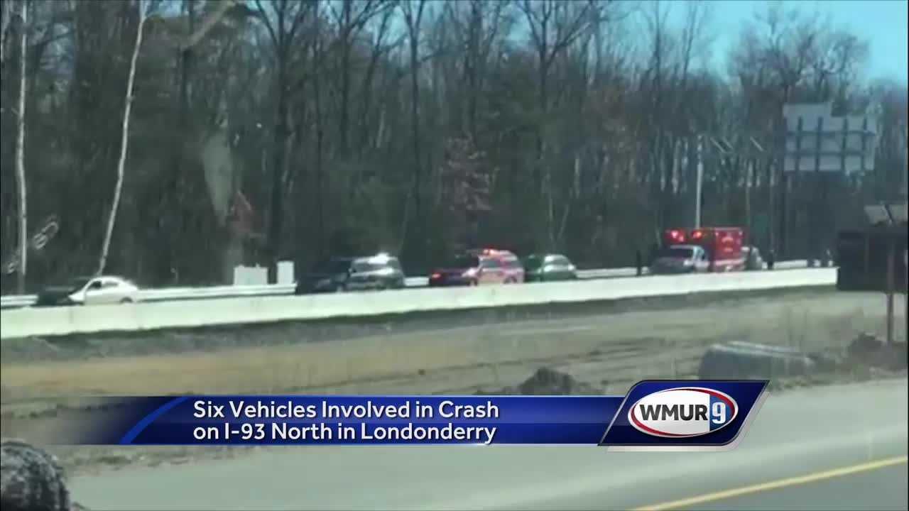 6-car crash on I-93 under investigation - New Hampshire news