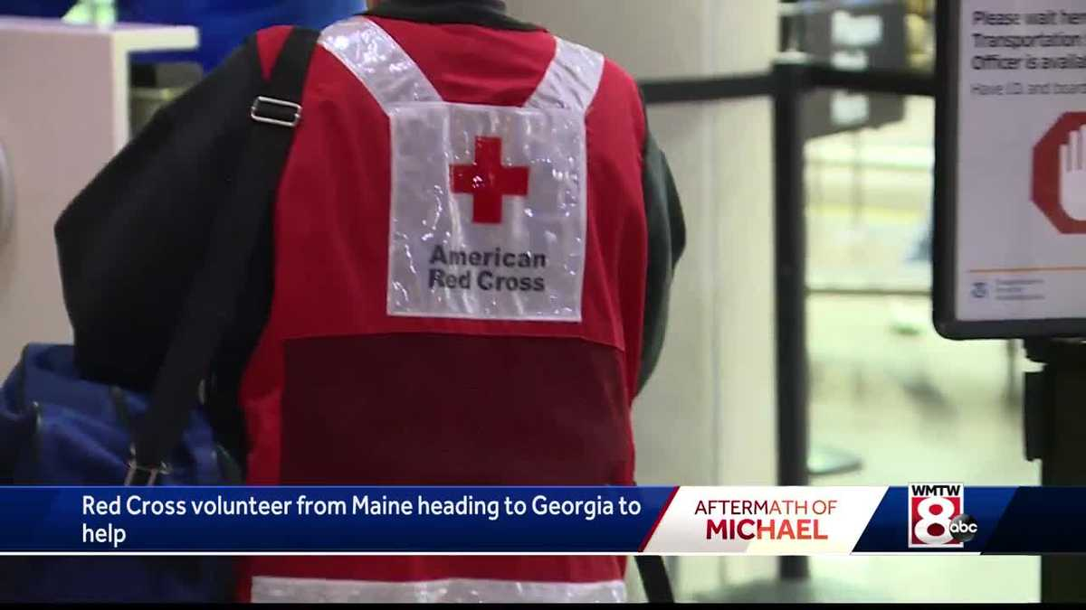 Red Cross volunteer from Maine heading to help victims from Hurricane Michael