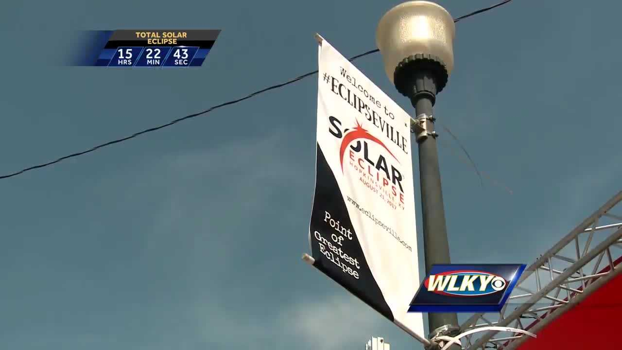 Thousands expected to watch eclipse in Hopkinsville