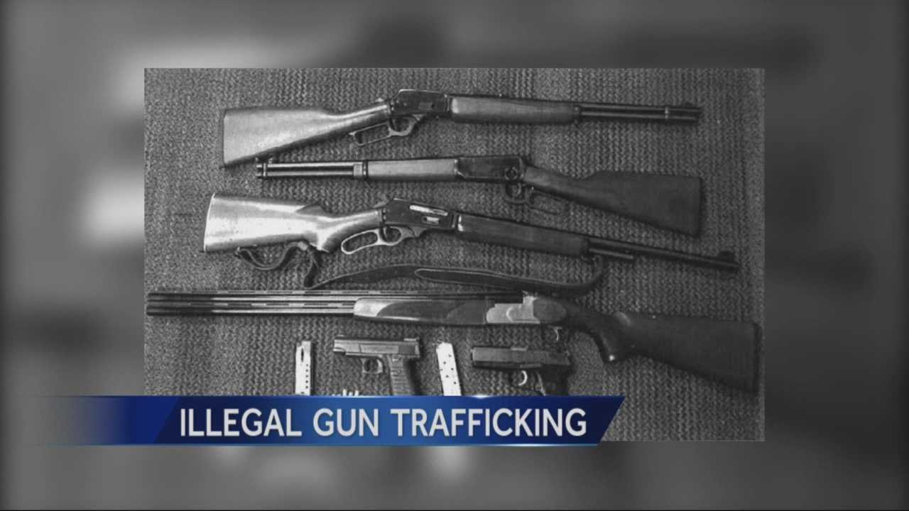 gun trafficking Firearms from lax gun control law states are not influencing strict law states here are the stats.