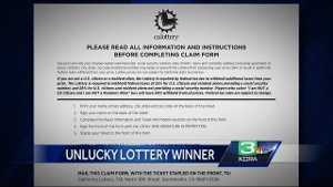 Man sues CA Lottery after he couldn't claim 63M prize